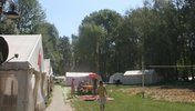 Zelte auf unserem Campingplatz